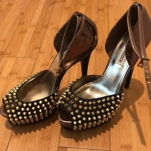 Steve Madden Obstacle Spiked Stilettos